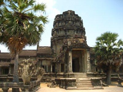 Angkor Wat front entrance