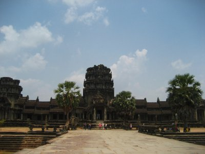 Angkor Wat Front Entrance