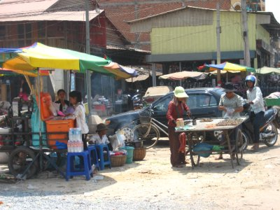 Streets of Siem Reap, Cambodia
