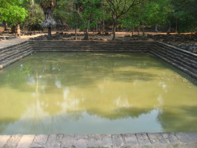 Pool at Baphuon