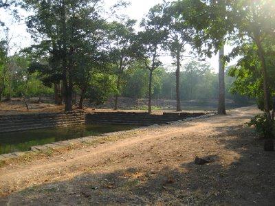 Mens and Womens pools at Baphuon