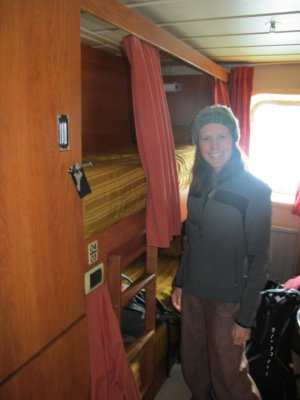 Our tiny 'BB' berth!