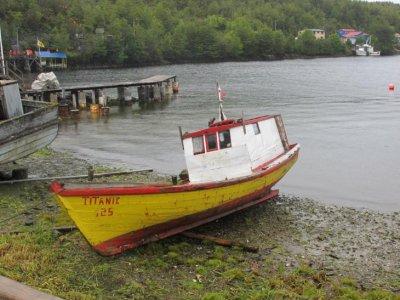 Puerto Eden's very own 'Titanic'!
