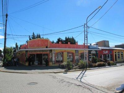 The main street in El Calafate