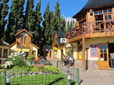 The little tourist town of El Calafate
