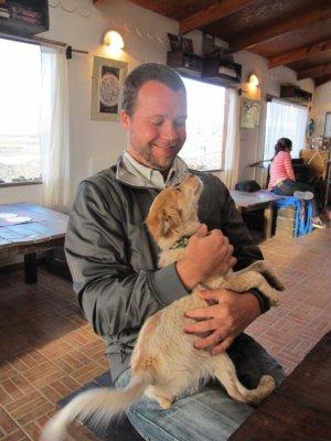 Ben's new furry friend!