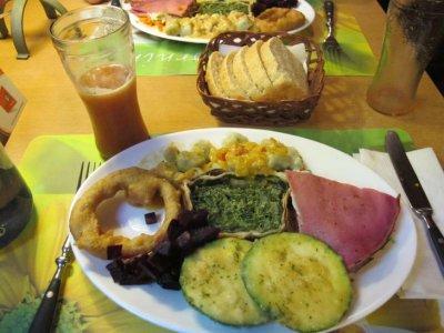 """Gourmet vegetarian food at """"El Vegetariano"""""""