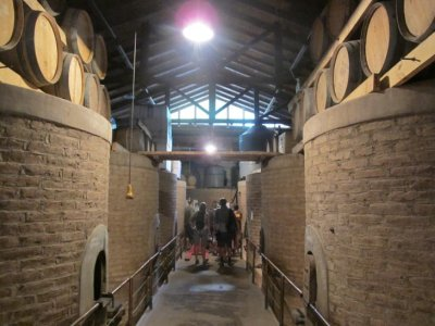 The old wine vats