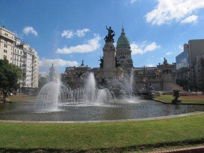 Congreso statue