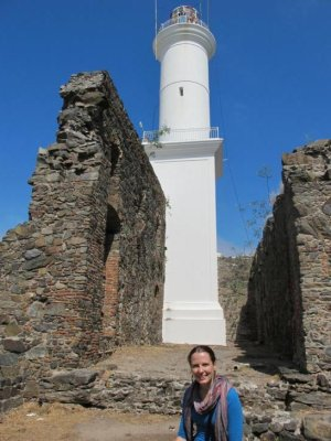 Chelle and the lighthouse