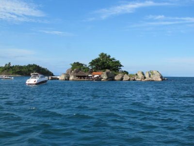 Our day out on the boat in Parati