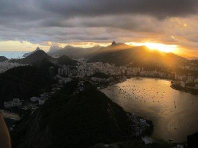 More sun set over Rio