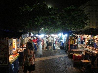 Copacabana night markets