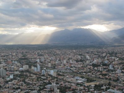 View of Cochabamba from the Christos