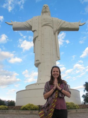 Namaste to the Christos of Cochabamba