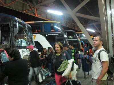 Another day, another crazy South America bus terminal