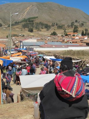 Tarabuco markets from the eyes of a local