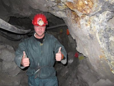Bolivian mine, in Potosi. That deserves a ... double thumbs up!