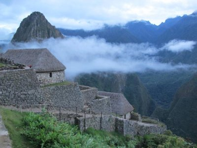 Machu Picchu at 6am