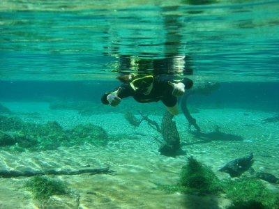 Chelle the snorkeler