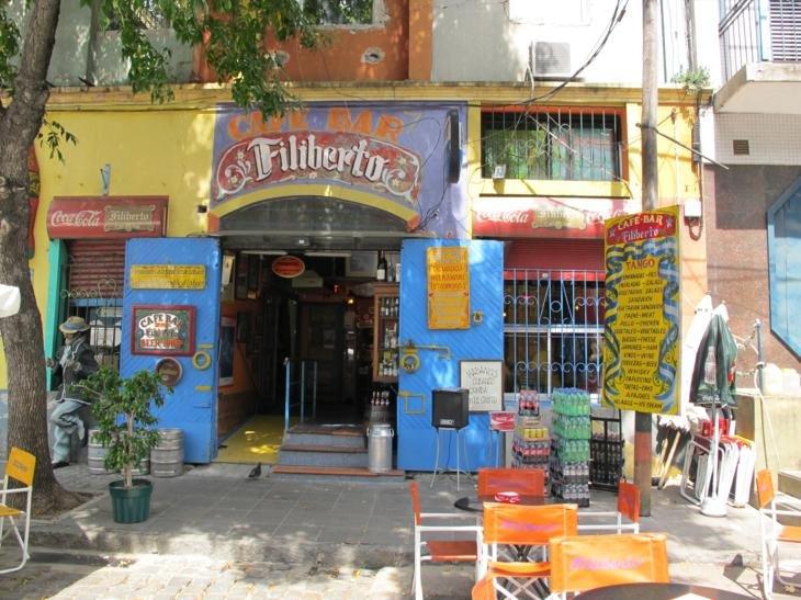 The colours of La Boca