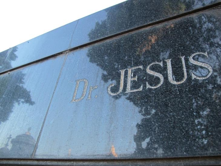 RIP Dr Jesus (yes there was a last name)