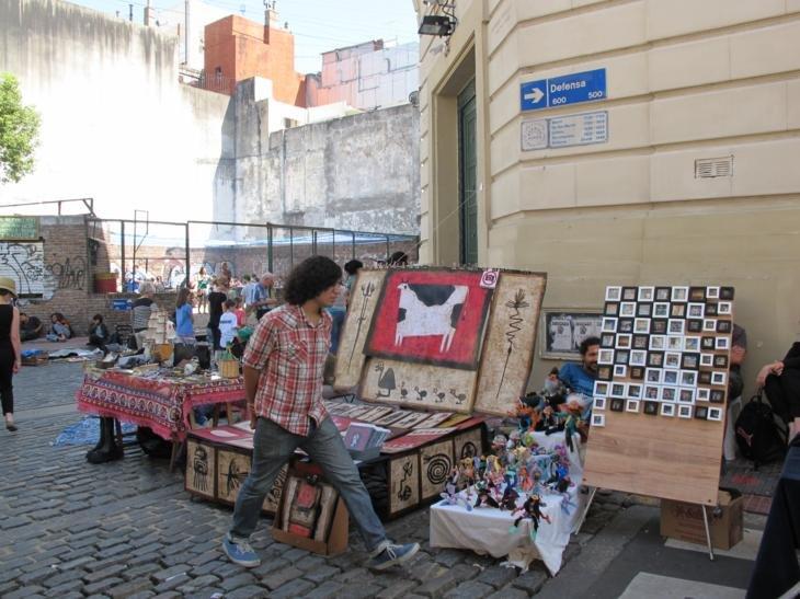 San Telmo markets & random guy