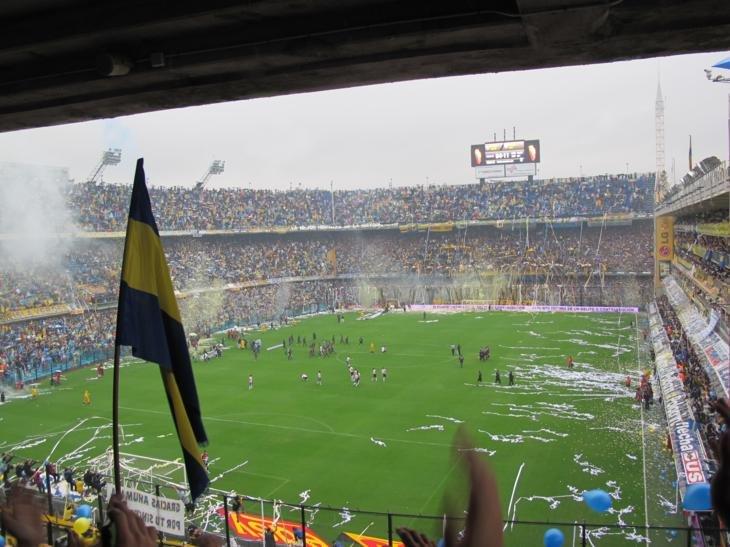 Go Boca, go Boca, go Boca!