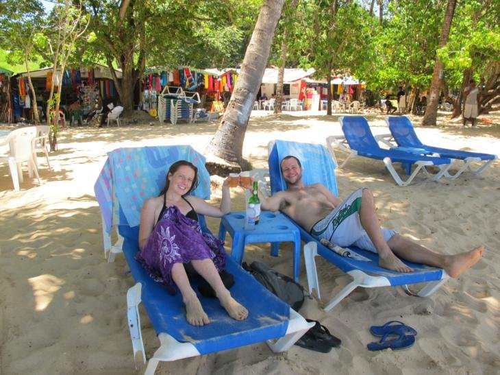 Beach days- Sosua Beach, DR.