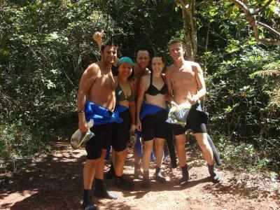 The international snorkel team!