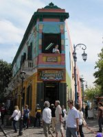 The colours of La Boca