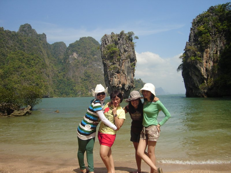 Snap on James Bond Island
