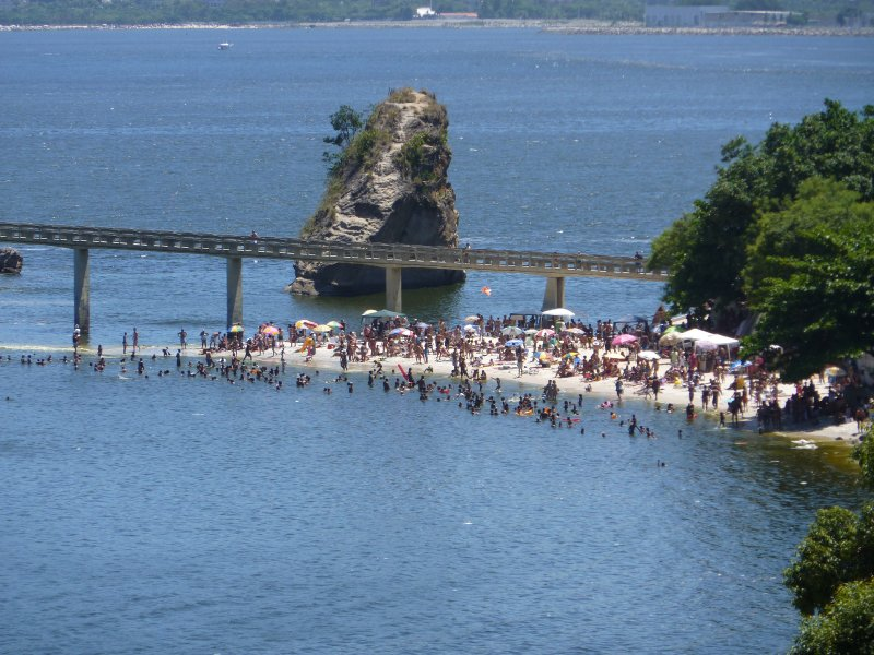 Rio to Niteroi Bridge