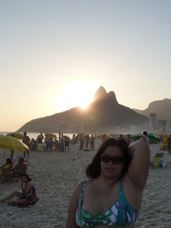 Sunset at Ipanema