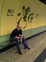 my hubby in wan chai station