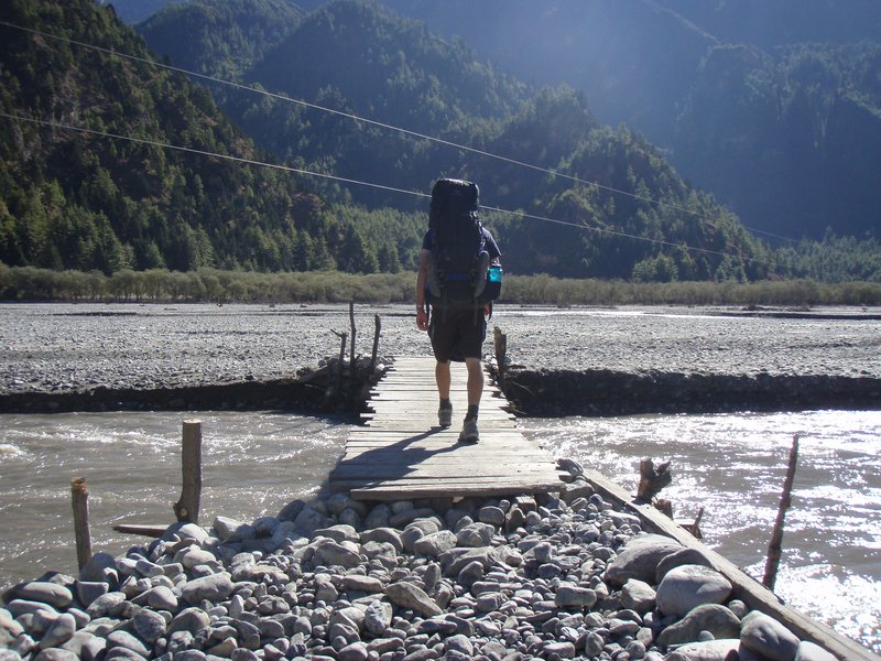 Another Day, Another Bridge on the Annapurna Circuit