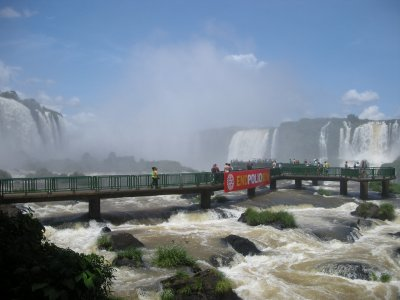 Brazil Iguazu Falls Viewing Platform