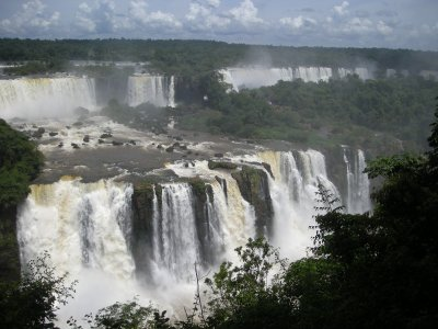 Iguazu from Brazil side