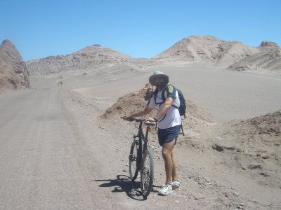 A space ship would have required less fitness- Valle de Luna