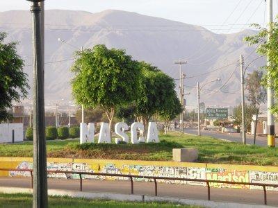 Arriving in Nasca