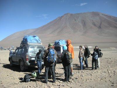 Bolivian Border at 4100m