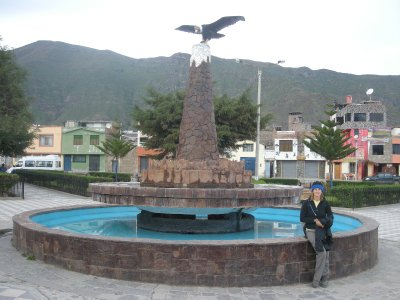 Cabanaconde village square