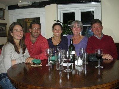 The last supper in Sevenoaks