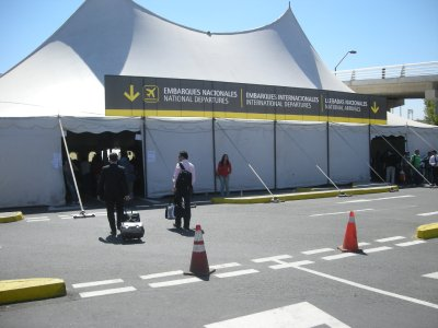 Domestic and International Terminal- Santiago