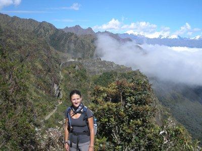 Incan village along the trail
