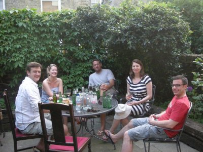 Jason, Sara, Seth, Shona and Pablo