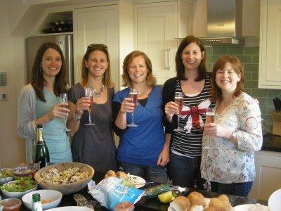 Jill, Sarah, Buzz, Shona and Jolene
