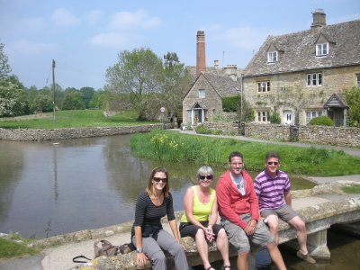 Lower Slaughter- the prettiest village in the Cotswolds