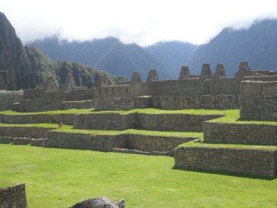 Machu Picchu Plaza- acts like an ampitheatre