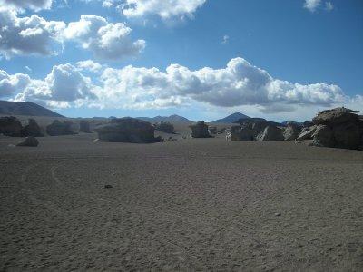 More rocks in the desert